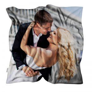 coperta personalizzata idee regalo matrimonio