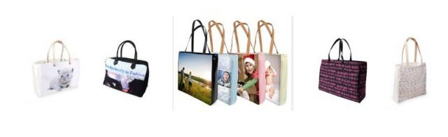 borse e borsette personalizzate con foto