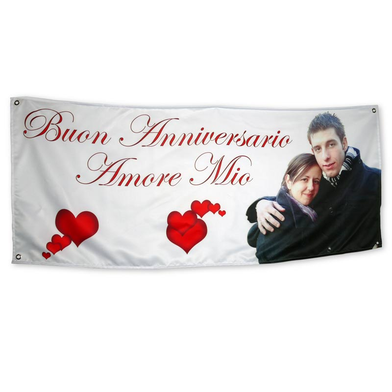 striscione personalizzato san-valentino