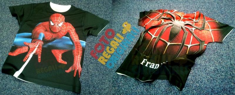 Magliette personalizzate spiderman con nome
