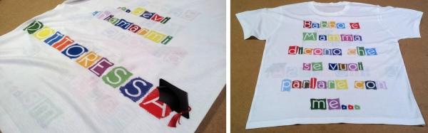 maglietta personalizzata per regali e scherzi di laurea