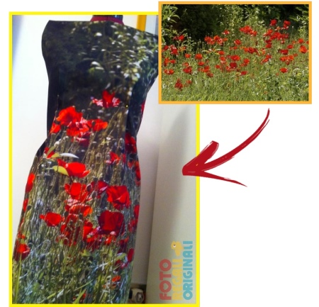 Creare vestito di fiori