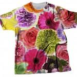 tshirt fiori