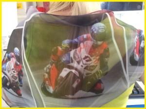 foulard regalo per motociclista donna