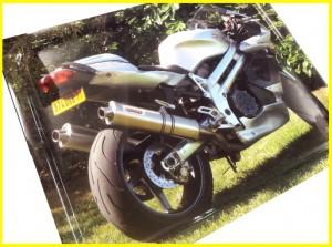 vassoio con foto moto regali per motociclisti