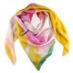 stampa foulard in seta personalizzato