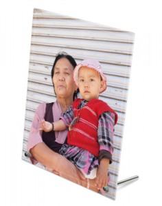 stampa foto su vetro nonni