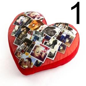 cuscino cuore romantico san valentino