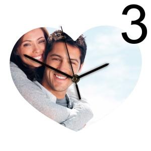 orologio cuore personalizzato