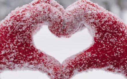 San Valentino banner cuore