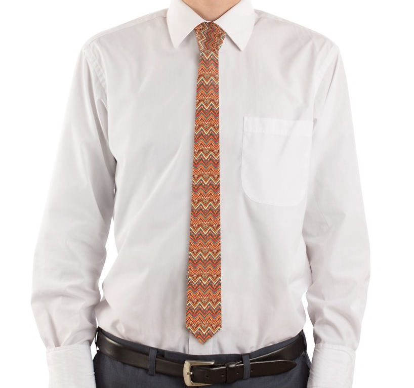 cravatta personalizzata stile messicano