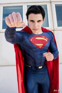 stampa su lycra costume di superman fai da te