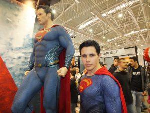 costume di superman faida te artigianale