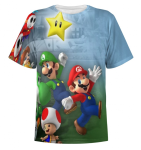 t-shirt super mario regali gamer