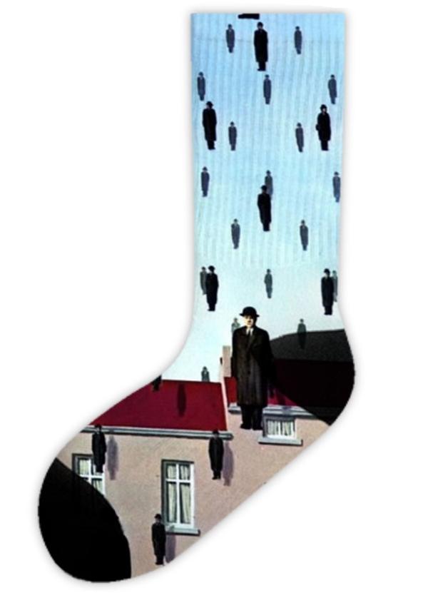 calza surrealista magritte