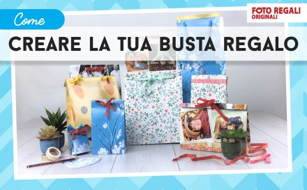 Tutorial come creare la tua busta regalo