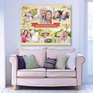 stampa quadro tela regali per anziani