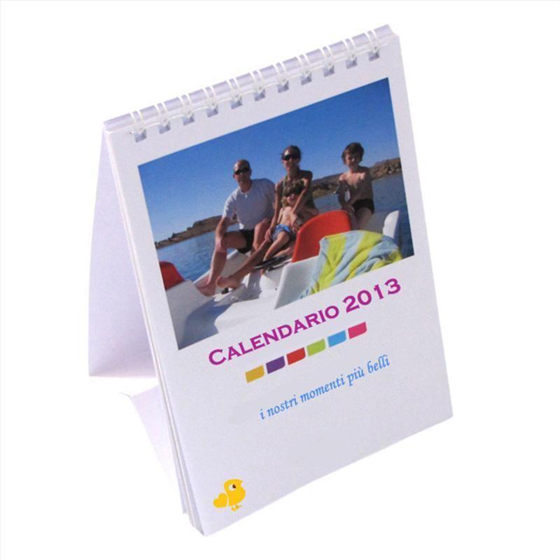 Calendario da tavolo 2016 personalizzato foto regali originali - Calendari da tavolo con foto ...