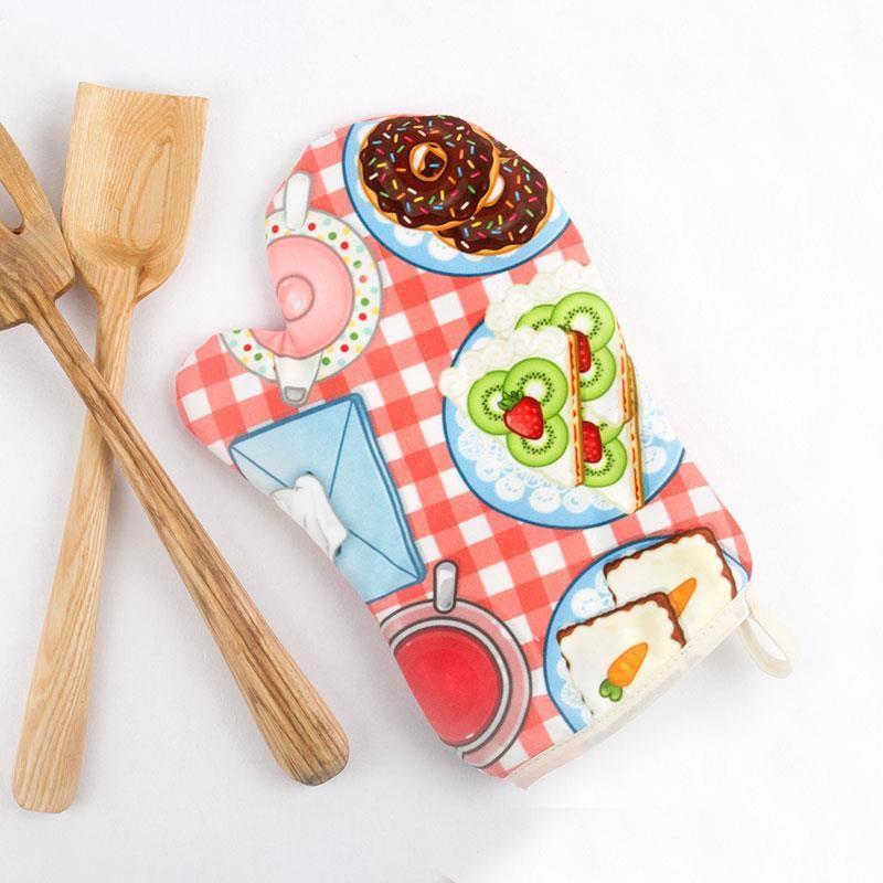 Crea i tuoi guanti da forno personalizzati con foto - Guanti da cucina ...