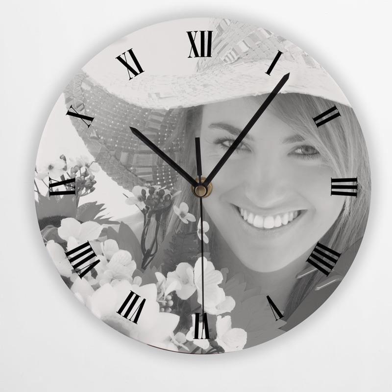 orologio rotondo da parete foto regali originali