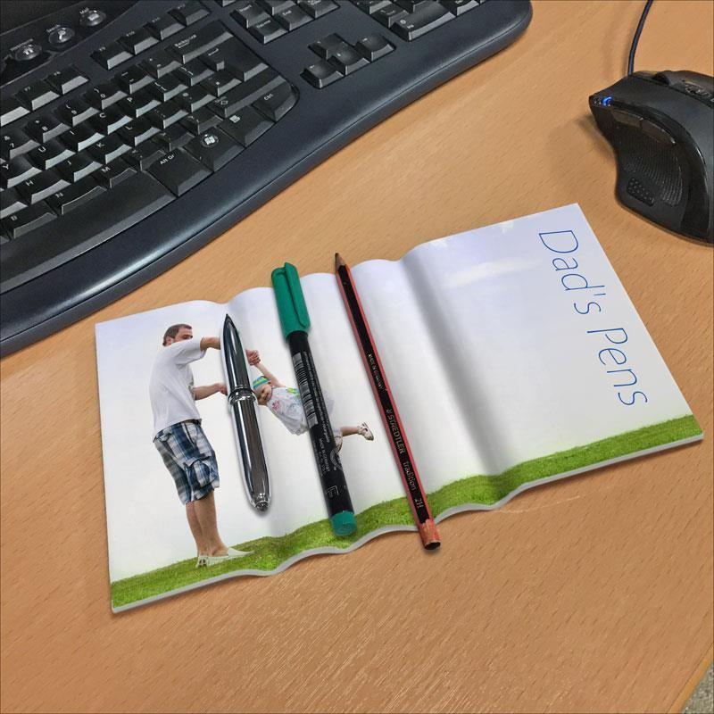 Il portapenne da tavolo da personalizzare e stampare con le proprie foto - Calendario da tavolo con foto proprie ...